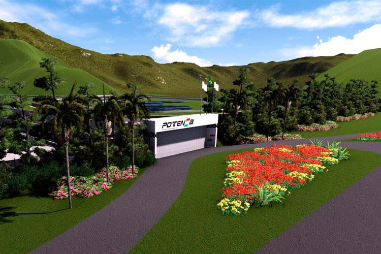 Projeção-Autódromo-Lima-Duarte-BR-267