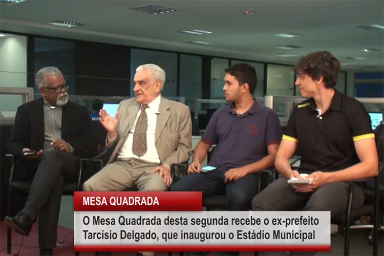 Imagem: Mesa Quadrada recebe o ex-prefeito Tarcísio Delgado
