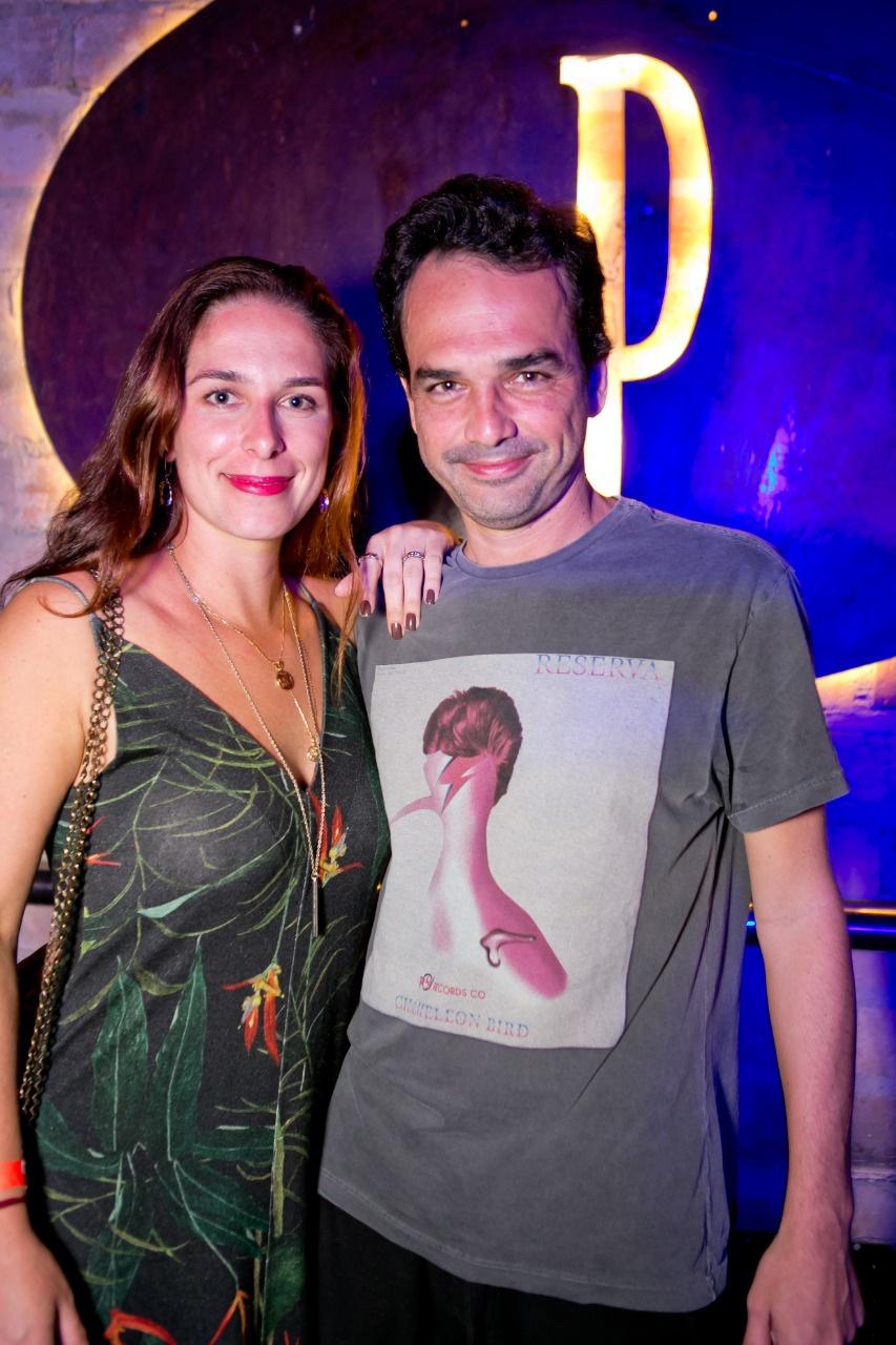 Aline e Bruno Cruz clicados na noite do Privilège Búzios Foto: Wanderson Monteiro