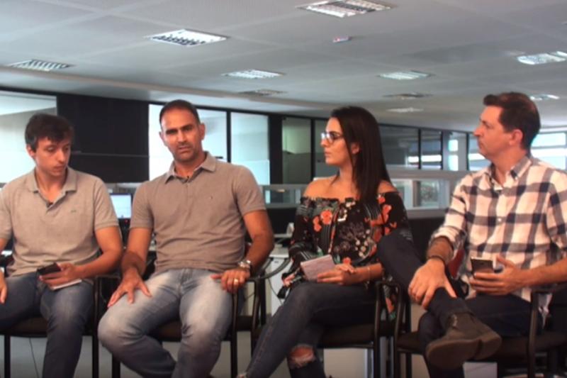 Imagem: Mesa Quadrada recebe Léo Devanir, ex-Flamengo e Tupi