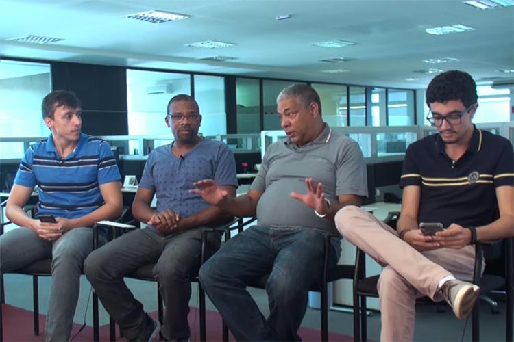 Imagem: Mesa Quadrada recebe Márcio Santos e Marcos Moreno