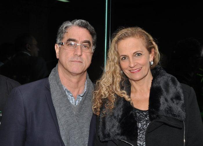 Alexandre e Simone Zaka Tostes em noite social Foto: Wólmer Monteiro