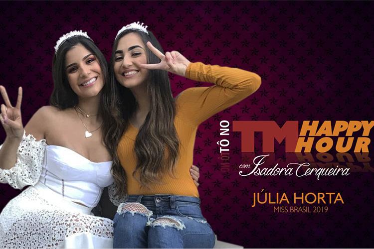 Imagem: Isadora Cerqueira recebe a Miss Brasil Júlia Horta (parte 1)