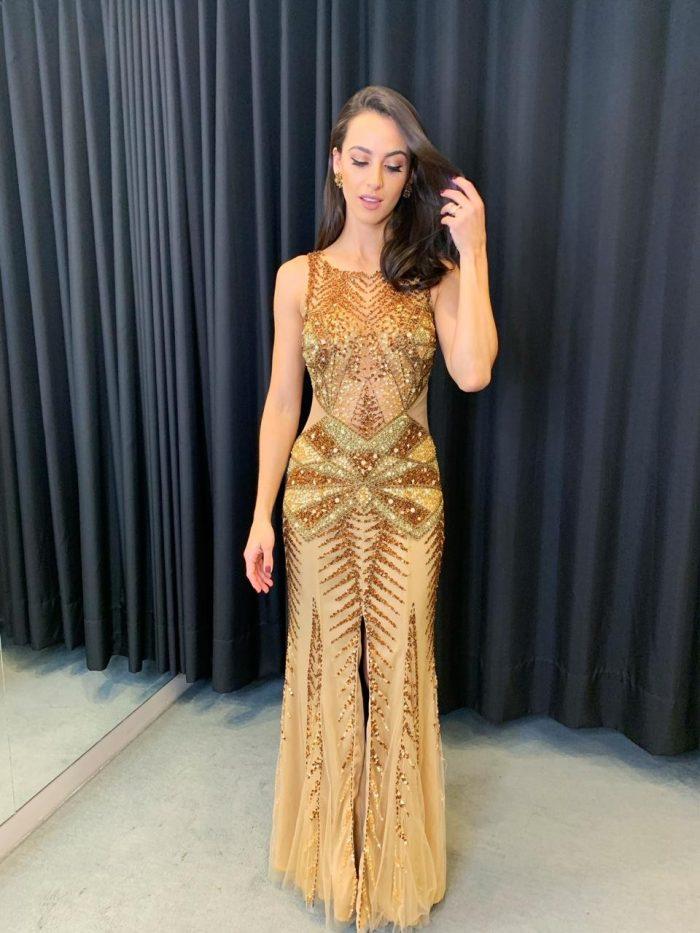 O vestido longo é sua melhor opção