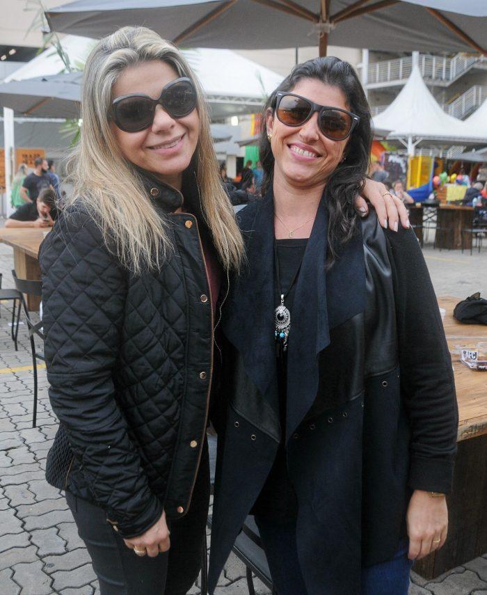 Vera Ganimi e Adriana Schmidt clicadas no Festival Sabores do Mundo Andréa Ottoni