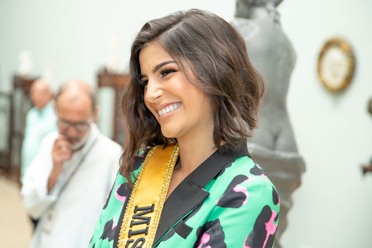 Imagem: Miss Brasil Júlia Horta fala sobre os preparativos para o Miss Universo