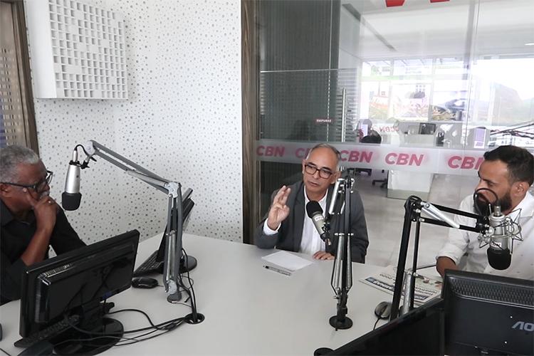 Imagem: Pequeno Expediente recebe o prefeito Antônio Almas
