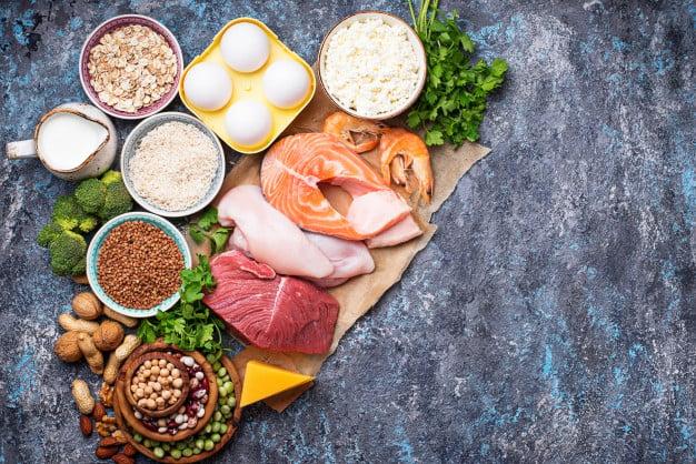 A proteína é essencial na alimentação, não deixe de consumir
