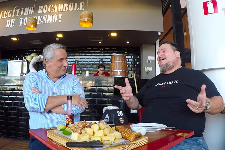 Imagem: Uma conversa descontraída com Doutor Glauco Corrêa no Totonho Happy Hour