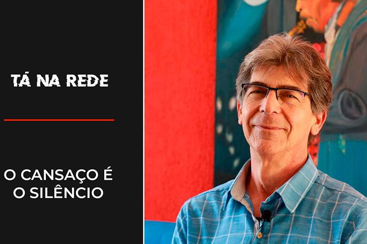 """Imagem: O cansaço é o silêncio   Tá na Rede"""""""