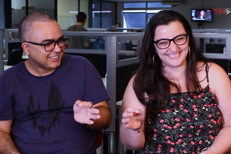 Imagem: Júlio Black e Gracielle Nocelli comentam estreia 'Adoráveis Mulheres' e 'Ameaça Profunda'
