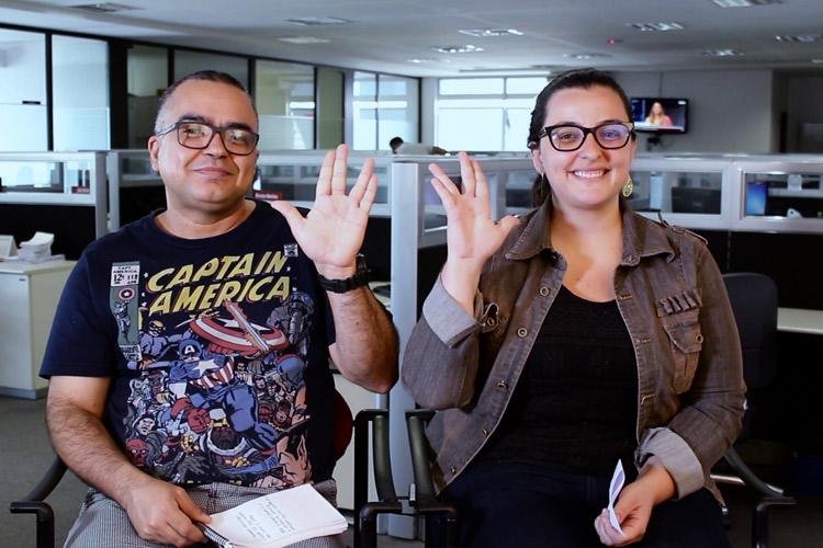 """Imagem: Júlio Black e Gracielle Nocelli falam sobre """"O Homem Invisível"""""""