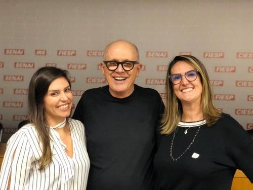 Camila Pereira, Paulo Henrique Fraccaro e Maria Augusta Souza 050320 enviada pelo Jorge Júnior
