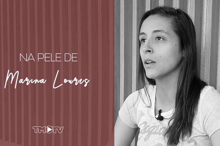 """Imagem: Tribuna inicia série """"Na pele delas"""" com a atleta de futsal Marina Loures"""