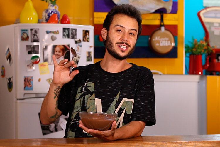 Imagem: Mousse de chocolate