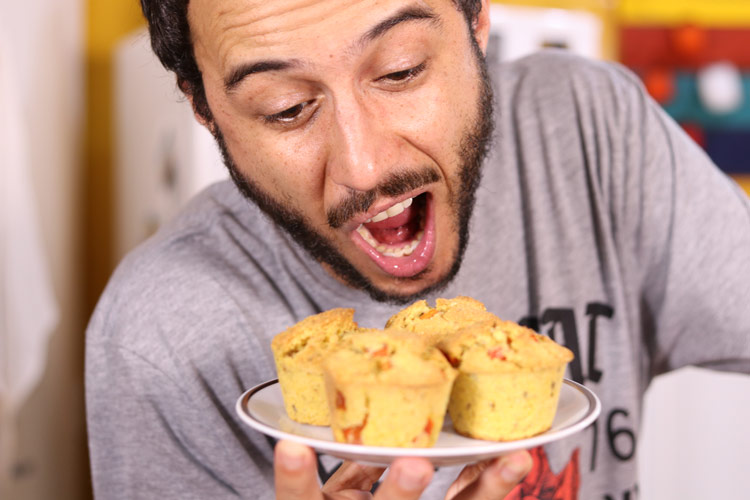 Imagem: Bolinho salgado | A Cozinha do Gibra