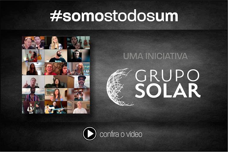Imagem: Grupo Solar lança a música 'Somos todos um' em parceria com artistas de JF
