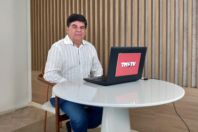 Imagem: Encontro com CR: Célio Chagas, Presidente do Hospital Albert Sabin