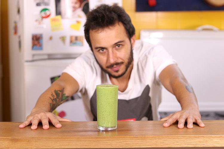 Imagem: Banana e couve | A Cozinha do Gibra