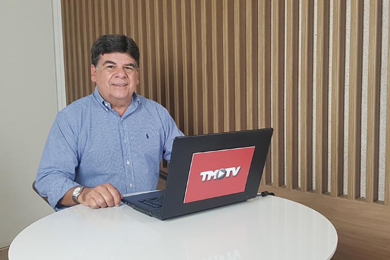 Imagem: Encontro com CR: Toninho Simão, diretor executivo da Done Produtora