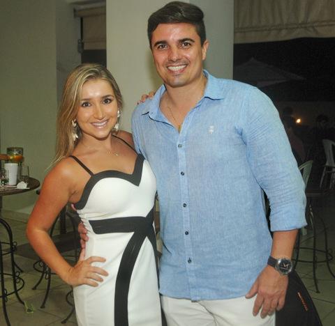 Melina Amaral e Guilherme Guerra Foto: Andréa Ottoni