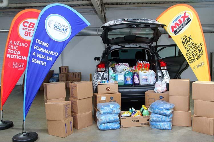 Imagem: Blitz Solidária arrecada materiais de limpeza para instituições filantrópicas