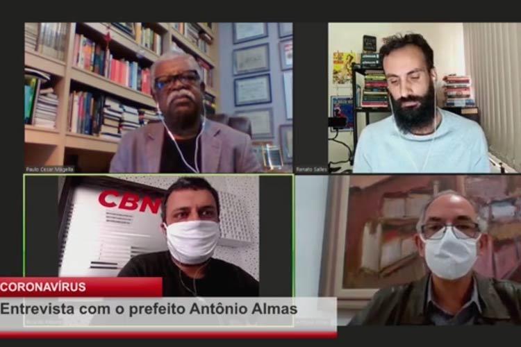 Imagem: Live: entrevista com o prefeito Antônio Almas