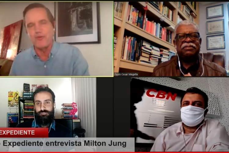 Imagem: Live: Milton Jung fala à CBN Juiz de Fora