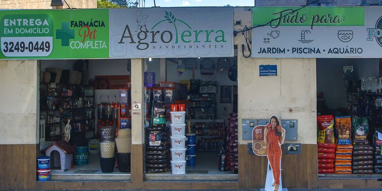 Imagem: Agroterra petstore e agropecuária: Mix de  produtos mais completo de JF