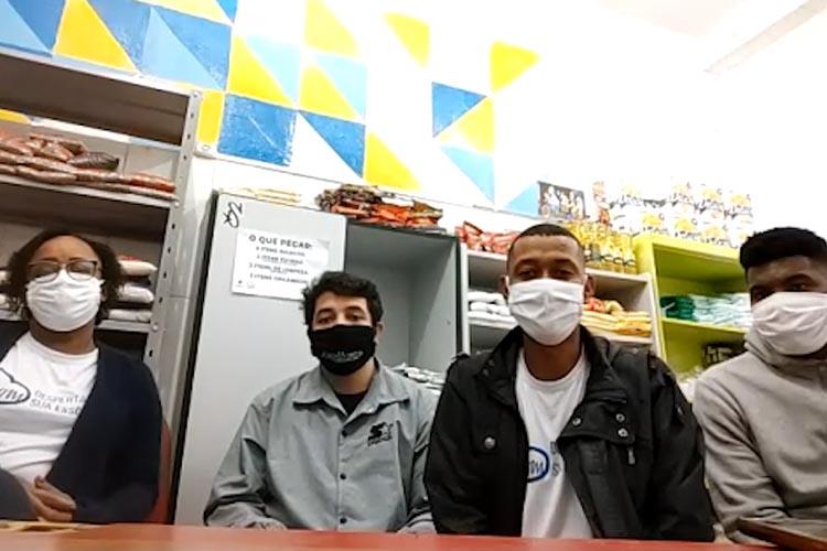 Imagem: Projetos no Dom Bosco auxiliam famílias no período de pandemia
