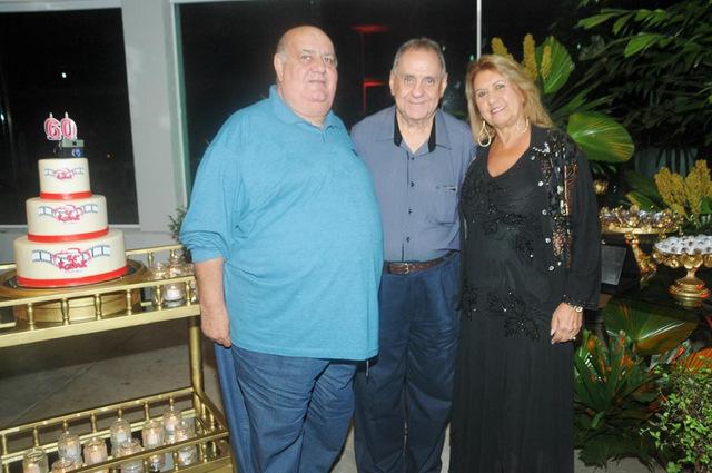 Carlos Guedes, José Carlos Passos e Elizabeth Ank