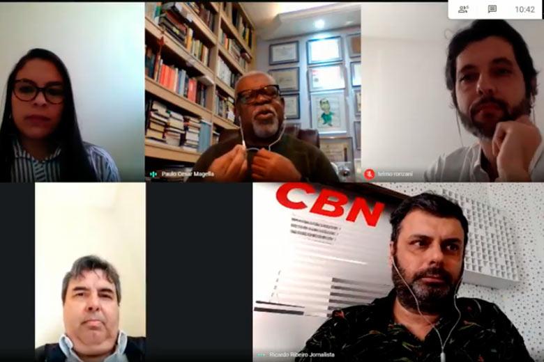 Imagem: Debate CBN discute a saúde mental durante a pandemia
