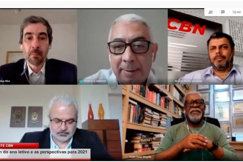 Imagem: Debate CBN conversa com reitores da região sobre o ano letivo das Universidades