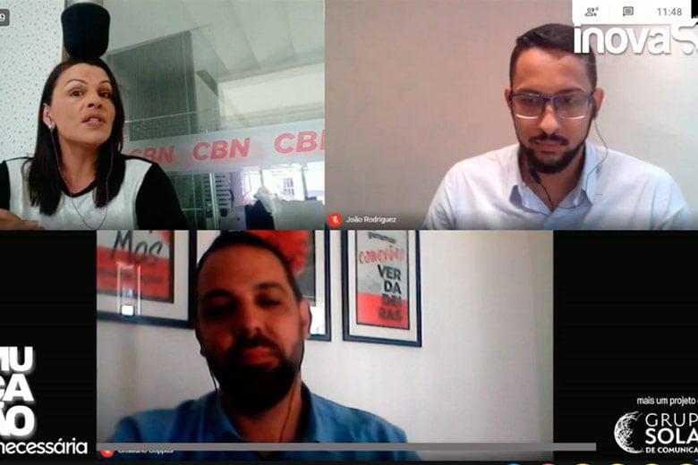 Imagem: Inova S.A conversa com Cristiano Coppus e João Paulo Rodrigues