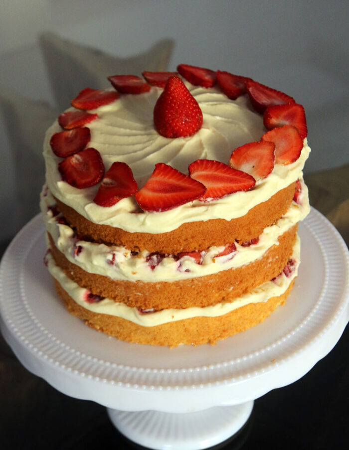como fazer bolo Naked Cake - YouTube