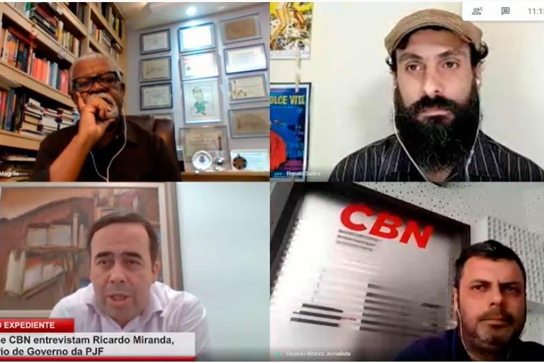 Imagem: Pequeno Expediente entrevista o secretário de Governo da PJF Ricardo Miranda
