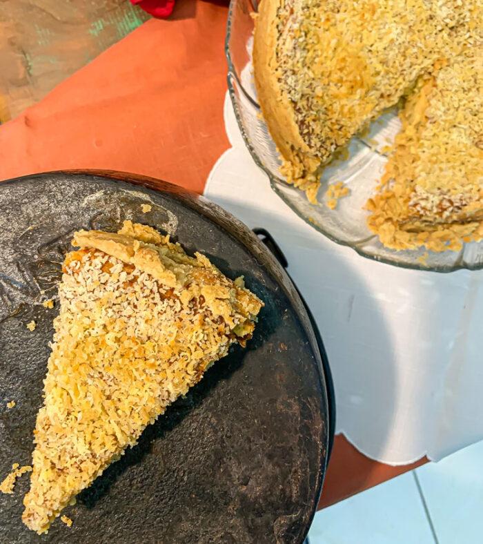 Torta de Bacalhau: Conheça a receita da avó que faz sucesso no restaurante do neto