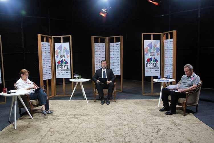 Imagem: Eleições 2020: debate entre Margarida e Wilson
