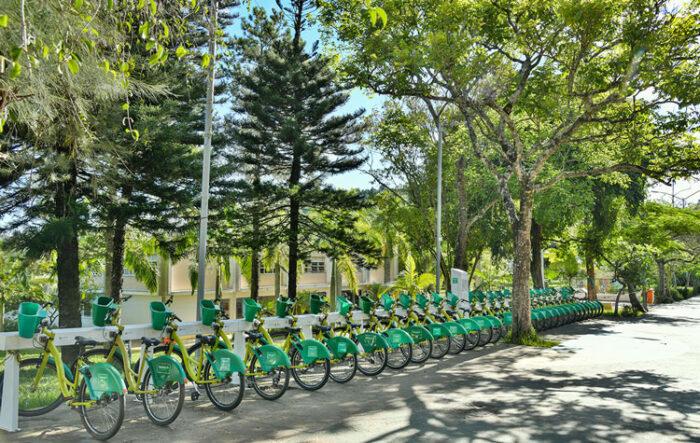 Estação Bike do campus da UFJF começa a ser revitalizada