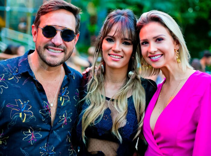 Léo Mussi, Ana Carla Freitas e Jéssica Nahr Foto: Wanderson Monteiro