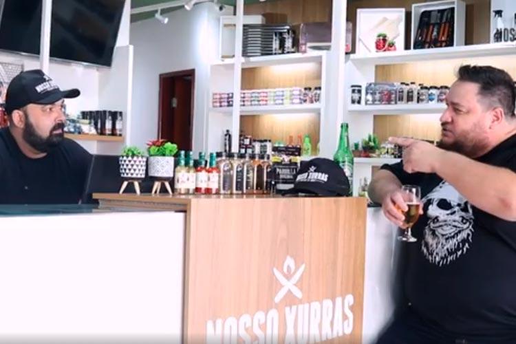 Imagem: Nosso Xurras - Tiago Couto conversa com Airton Soares
