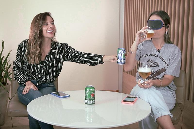 Imagem: Divas Beer l Teste às cegas com cerveja zero álcool