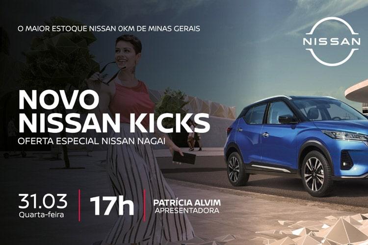 Imagem: Nissan Nagai - Lançamento do Nissan Kicks
