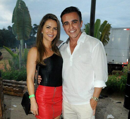 Alba e Leonardo do Valle Gomes Foto: ANDRÉA OTTONI