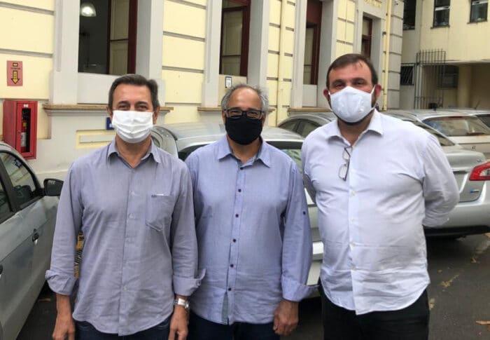 Isauro Calais, Nilson Ferreira Neto e Eduardo Schroder, três gerações de dirigentes que marcaram época no Procon