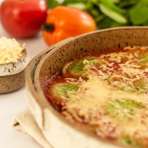 Sorrentino Margherita ao Molho Pomodoro