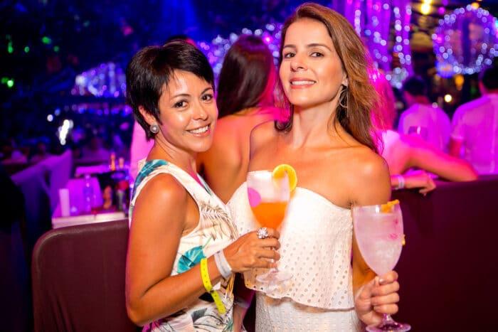 Juliana Gimenez e Raquel Padilha, antes da pandemia Foto: Wanderson Monteiro