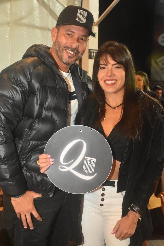 Leonardo Garcia e Geovana Fernandes no Espaço 032