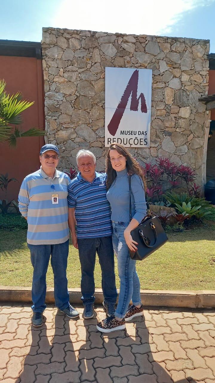 Museu das Reduções 280721 Carlos Alberto e Andréia enviada pelo Cesar Romero para domingo 010821 b