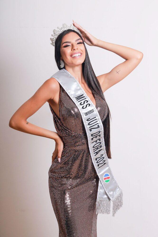 Amanda Couto, a nova Miss Universo Juiz de Fora